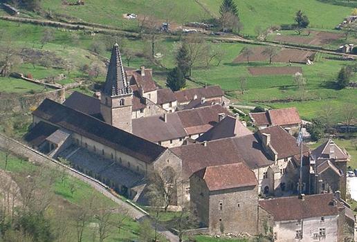 L'abbaye de Baume les Messieurs
