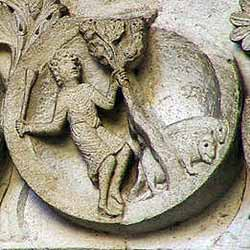 http://monumentshistoriques.free.fr/cathedrales/autun/zodiaques/novembre-glandee.jpg