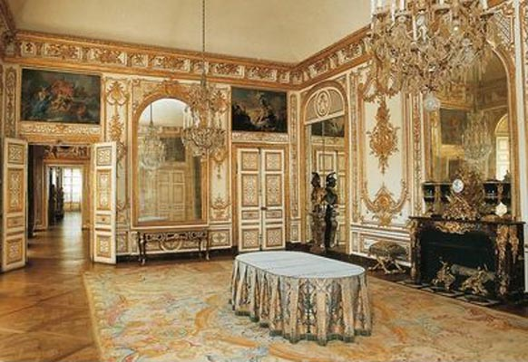 ch teau de versailles cabinet. Black Bedroom Furniture Sets. Home Design Ideas
